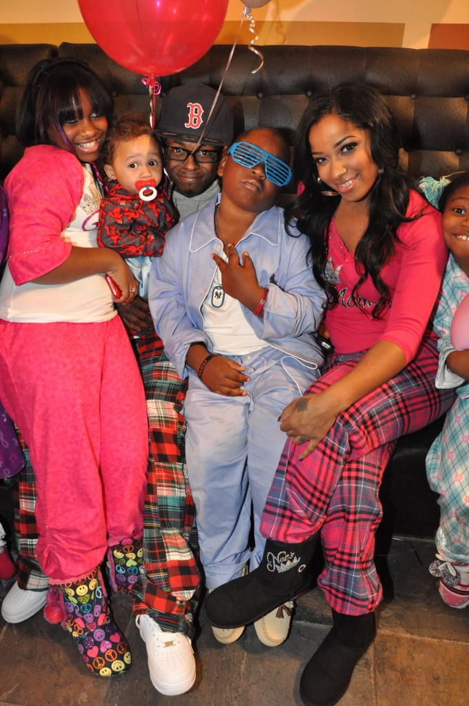 reginae pajama jam and family