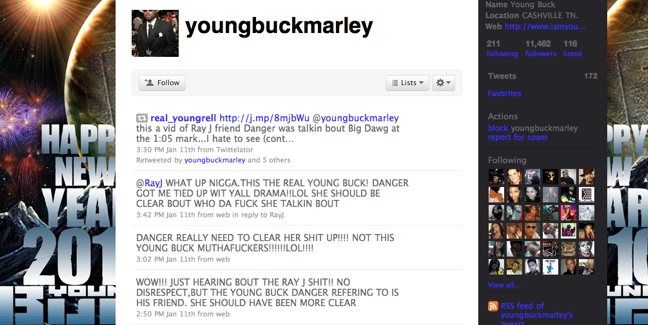 Picture 4 young buck twitter