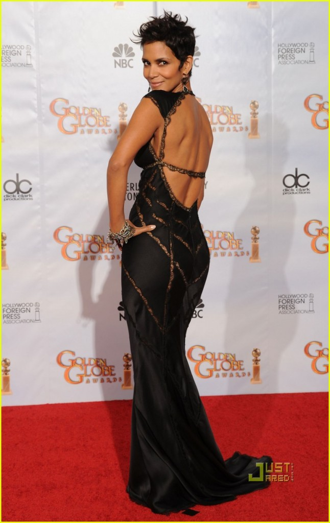 Actress Halle Berry poses in the press room at the 67th Annual Golden Globe Awards held at The Beverly Hilton Hotel on January 17, 2010 in Beverly Hills, California.