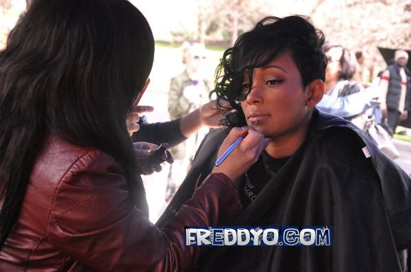 Monica Hair Styles: Monica Hairstyle In Everything To Me Video 15625