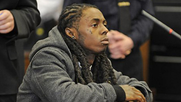 Lil Wayne is no longer a free man. The emcee appeared in a New York
