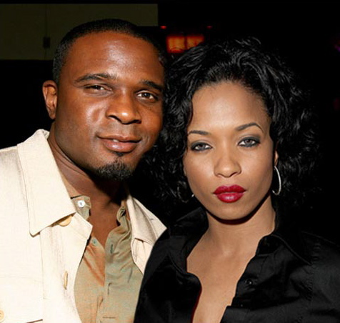 Darius McCrary with his first wife Juliette Merrill