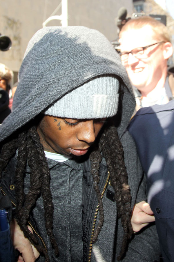 Return To: Lil Wayne Heads To Prison & Must Cut Off His Dreads »