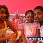 Lil Scrappy and Diamond Throw Lil Scrappy's Daughter A Birthday Party