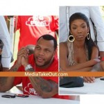 Flo Rida's Cheating With A Stripper Behind Brandy's Back!!!