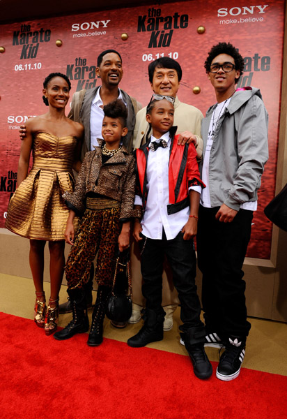 """""""The Karate Kid"""" Hollywood Premiere, Pictures - FreddyO.com"""