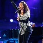 Alicia Keys And Her Belly Hit The World Cup Stage