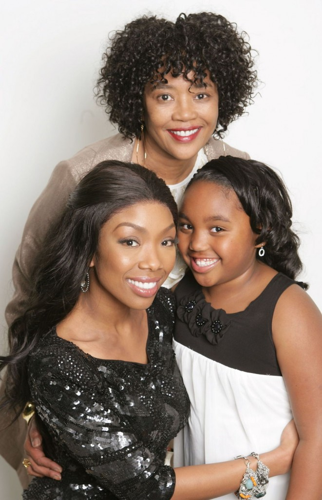 Brandy Norwood, Daughter Sy'rai, Mother Sonja Norwood