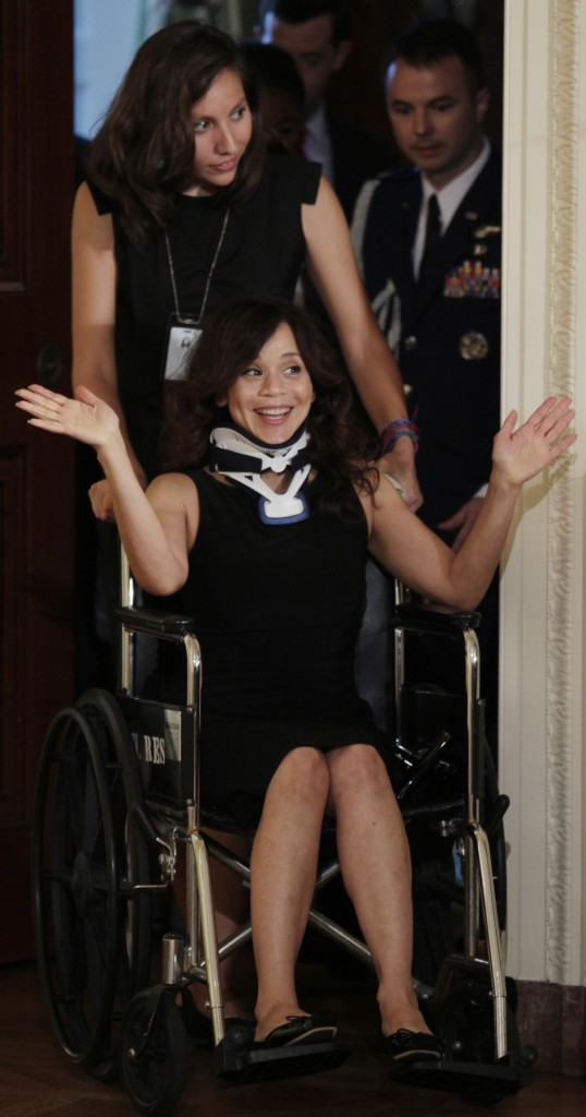 ROSIE-PEREZ-WHEELCHAIR