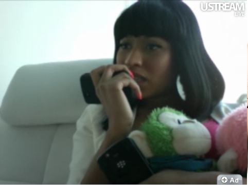 Tuesday night (August 3) Nicki Minaj called some lucky fans and revealed the