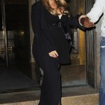 Pregnant Mariah Carey Attends Nick's 30th Birthday