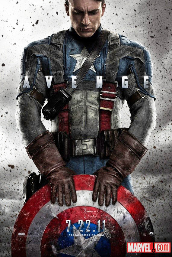 Captain america movie poster official