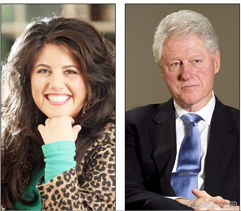 bill clinton and monica lewinsky video. Bill Clinton and Monica