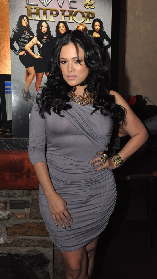 VH1 LOVE & HIP HOP Star Emily B Promos In Atlanta | FreddyO.