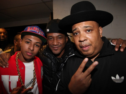 Q-Tip hanging with RevRun and Diggy