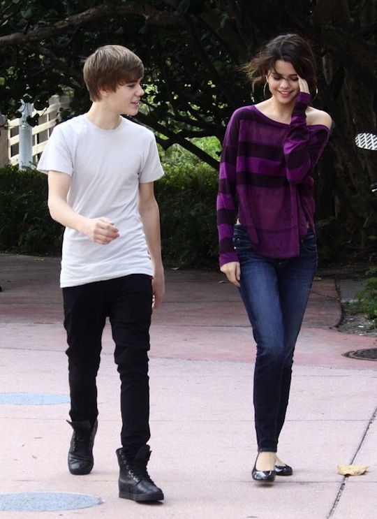 #6305457 Justin Bieber hangs out with fellow young pop star Selena Gomez in Miami, Florida on December 18, 2010 where the pair looked happy and comfortable.  Are the young celebs more than friends?  Fame Pictures, Inc - Santa Monica, CA, USA - +1 (310) 395-0500