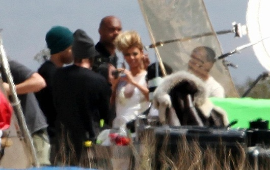 Beyonce-on-Set-of-New-Video
