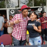 Megan Good & Pooch Hall Speak About Bloggers & Aaliyah Movie