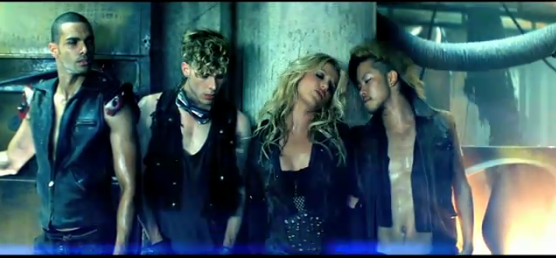 britney spears till the world ends video shoot. Screen shot 2011-04-06 at