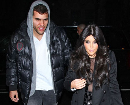 kim kardashian and kris humphries. Kim Kardashian and Kris