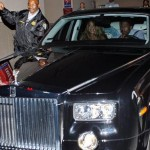 Nick And Mariah Leaving The Hospital In Style