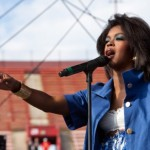 Lauryn Hill Performs At  The LA Rising Festival (VIDEO)