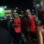 Photographer Spits On The Game And Starts Fight