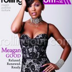 Meagan Good Poses For Rolling Out