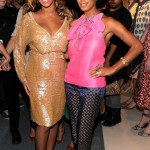 Beyoncé & Solange Make Surprise Visit During Fashion Week