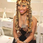 Nicki Minaj Decked Out In Animal Print For Oscar De La Renta Fashion Show
