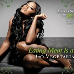 Angela Simmons Goes Nude for PETA