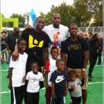 Dwayne Wade and Lebron James Participate in Nickelodeon World Wide Day of Play