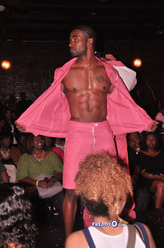 DSC_0891    Ebony Steele's Bare Chest for Breast Cancer Runway Event