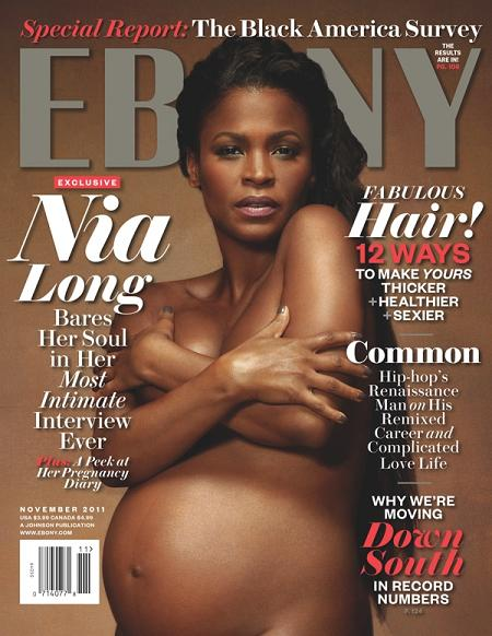 Long is not the first to go nude while pregnant, she joins the list of ...