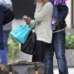 Diddy and Cassie Caught Exiting Their NY Hotel