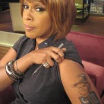 Gayle King Gets A 50 Cent Tattoo + 50 on Bullying and Being Bullied