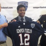 Justin Combs Joins The All-American Football Team