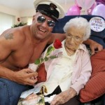 100 Year Old Grandmother Gets Stripper For Birthday