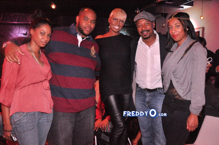 Nene, Cynthia Bailey, Marlow Hampton viewing party @BarOne AtlDSC_0205