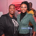 Nene, Cynthia Bailey, Marlow Hampton viewing party @BarOne AtlDSC_0277