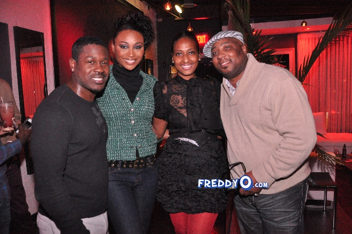 Nene, Cynthia Bailey, Marlow Hampton viewing party @BarOne AtlDSC_0325