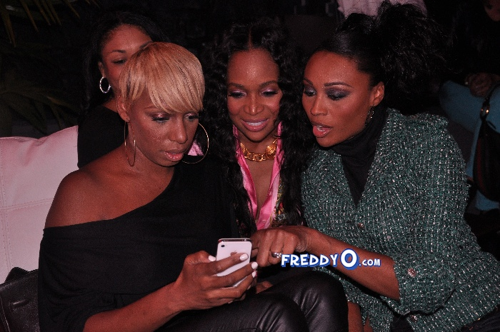 Nene, Cynthia Bailey, Marlow Hampton viewing party @BarOne AtlDSC_0384