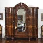 Publicity photo of armoire from the Carrolwood Drive rented home of pop star Michael Jackson
