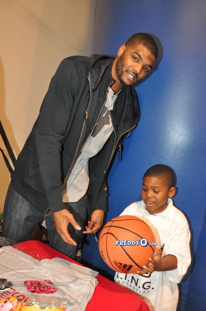josh smith playing with kids