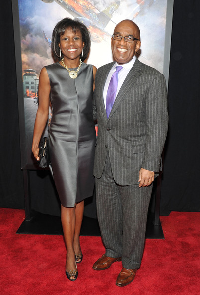 Al Roker and wife Deborah Roberts
