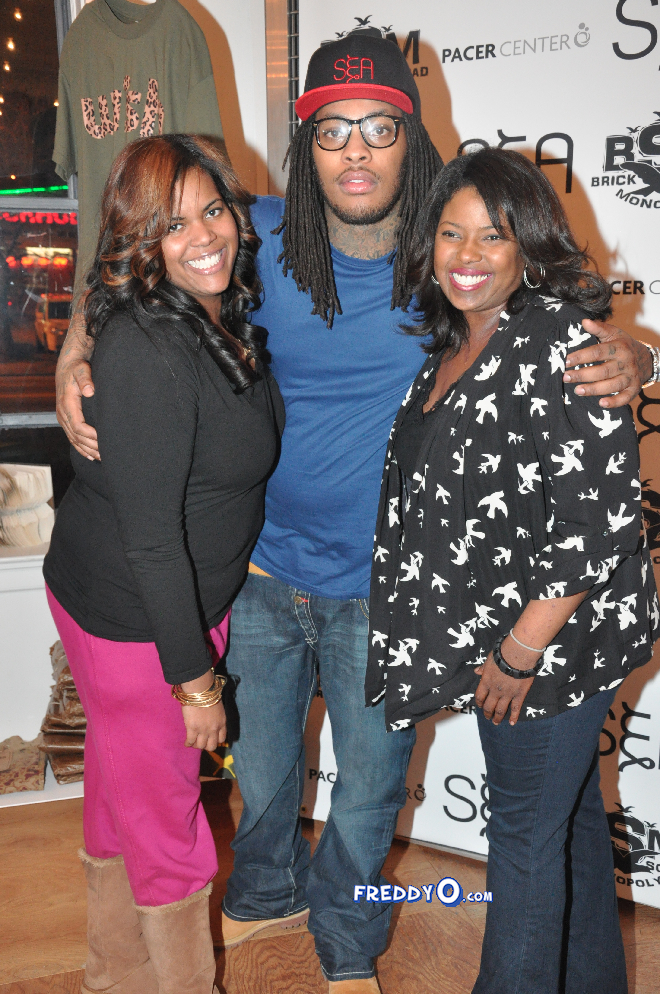 Waka Flocka Launch #WakaNewYear Anti Bullying Campaign0140