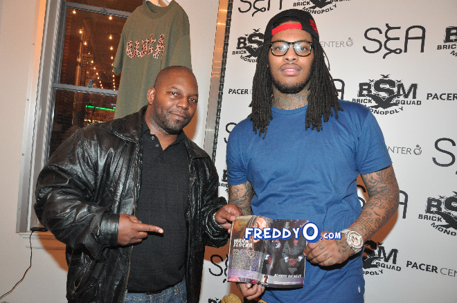 Waka Flocka Launch #WakaNewYear Anti Bullying Campaign0173