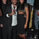 Marlo Hampton and Derrick J Kick Out MLK Weekend 20120175