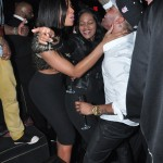 Marlo Hampton and Derrick J Kick Out MLK Weekend 20120204