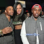 Marlo Hampton and Derrick J Kick Out MLK Weekend 20120230